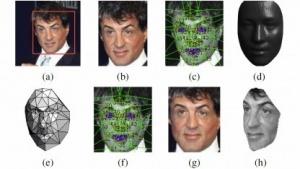 Deepface erkennt ein Bild von Sylvester Stallone.