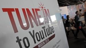 Youtube-Stand auf der Midem in Cannes