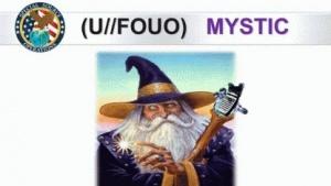 Der Zauberer symbolisiert für die NSA das Überwachungsprogramm Mystic.