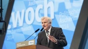 Horst Seehofer im März 2014