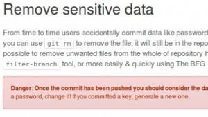 Github empfiehlt Entwicklern, ihren Code nach ungewollt veröffentlichten Schlüsseln und Passwörtern zu durchsuchen und sie zu löschen.