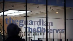 Redaktionssitz des Guardian in London