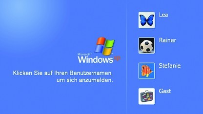 windows xp registry hack for updates