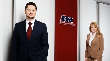 Ditech-Gründer Damian und Aleksandra Izdebski in besseren Zeiten