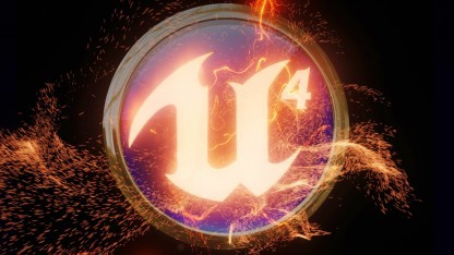 Logo der Unreal Engine 4