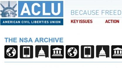 Die ACLU hat eine Datenbank mit Snowden-Dokumenten eingerichtet.