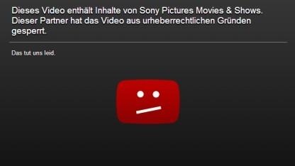 Über das Wochenende war der Open-Source-Film Sintel versehentlich bei Youtube gesperrt.