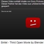 Open-Source-Film: Sintel vorübergehend auf Youtube gesperrt