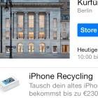Apple: Geld zurück für altes iPhone