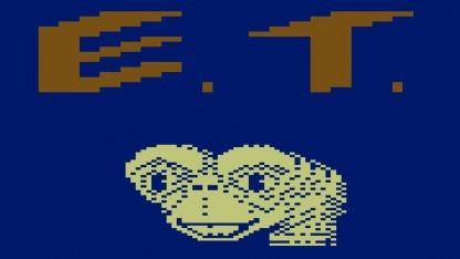 Startbildschirm von ET the Extraterrestrial