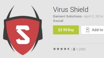 3,99 Dollar für eine App, die nur aus einem Logo besteht