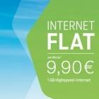 Blau: 1-GByte-Datentarif für 9,90 Euro im Monat