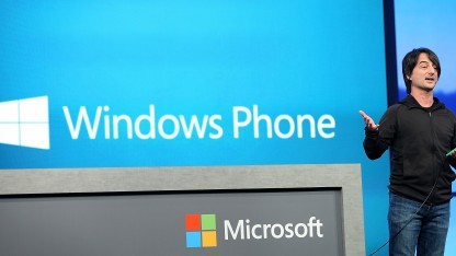 Windows-Phone-Chef Joe Belfiore bei der Vorstellung von Windows Phone 8.1