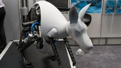 Bionic Kangaroo: Steuerung mit Gestenarmband