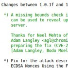 OpenSSL-Lücke: Programmierer bezeichnet Heartbleed als Versehen