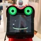 Roboter: Freundlicher Frosch führt Fremde