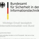 Phishing-Mail: BSI warnt vor BSI-Warnung