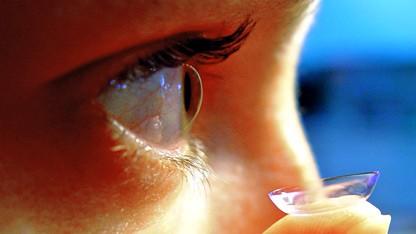Kontaktlinsen von Google könnten bald selbst sehen.