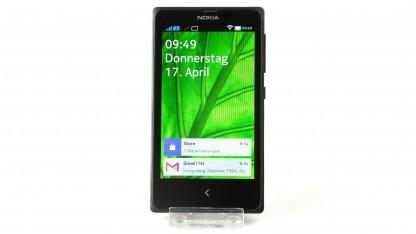 Das Nokia X kommt mit einer stark bearbeiteten Android-Version.