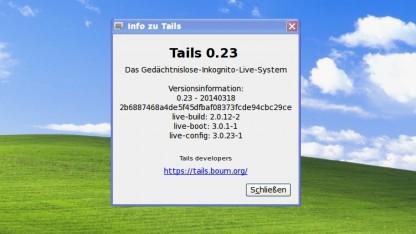 Getarnt im Internet mit Tails