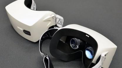 Älterer Prototyp des Gameface Labs Mark IV mit 1080-OLED