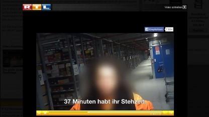 Aus dem Fernsehbericht bei RTL