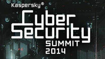 Das Logo des Kaspersky Cybersecurity Summit 2014 in San Francisco