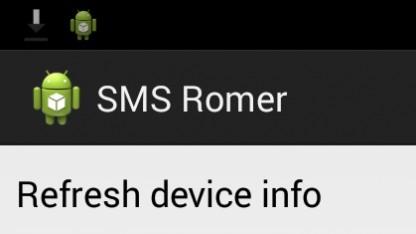 Mit SMS-Romer können Cyanogenmod-Versionen per SMS auf das Smartphone gespielt werden.
