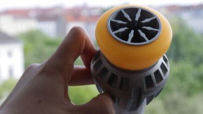 LGs LED Bulb mit aufwendigem Kühldesign.