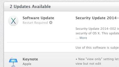 Apple veröffentlicht Sicherheitsupdate für Mac OS X 10.7.5 und neuer.