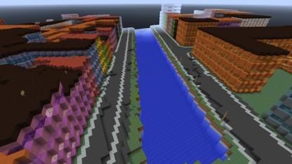 Teil von Dänemark in Minecraft