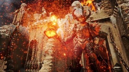 Der Elemental-Feuerdämon