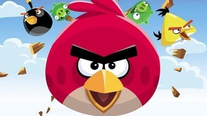 Artwork von Angry Birds