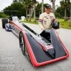 Elektroauto: 82-Jähriger geht mit Elektro-Dragster auf Rekordjagd