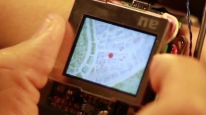 Smartwatch-Steuerung mit Joystick-Elementen