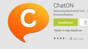 Chaton 3.5 gibt es im Play Store.