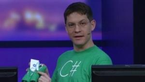 Miguel de Icaza bei der Vorstellung der .NET-Foundation.