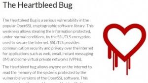 Der Heartbleed-Bug bedroht die Verschlüsselung im Netz.
