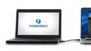 Windows-PC und Mac per Thunderbolt Networking verbunden
