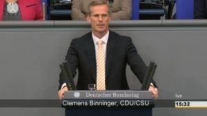 Überraschend vom NSA-Ausschuss zurückgetreten: Clemens Binninger