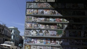 Illegale Musikkopien auf Kuba im Jahr 2012