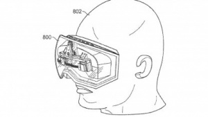 Apples Head-mounted Display aus einem Patentantrag
