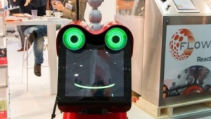 Roboter Frog: Beamer und Augmented Reality