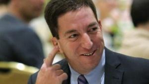 Glenn Greenwald auf einer Preisverleihung am 11. April 2014 in New York