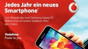 Vodafones Next-Phone-Tarif ist ab sofort erhältlich.