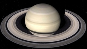 Planet Saturn (Symbolbild): Monde entstanden in den Ringen