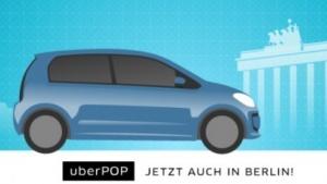 Taxi-Konkurrent: Uberpop startete in Berlin.