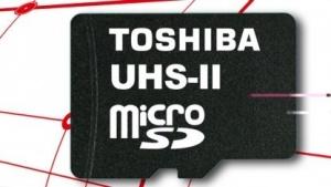 Micro-SD-Karte mit UHS-II-Schnittstelle