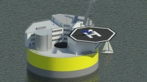 Schwimmendes Atomkraftwerk: außer Sicht, liefert Strom