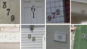 Der neue Algorithmus soll auch schwer lesbare Hausnummern erkennen.